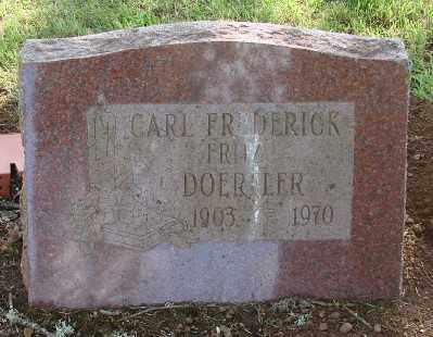 DOERFLER, CARL FREDERICK - Marion County, Oregon   CARL FREDERICK DOERFLER - Oregon Gravestone Photos