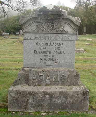 ADAMS, ELIZABETH - Marion County, Oregon   ELIZABETH ADAMS - Oregon Gravestone Photos