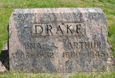 DRAKE, ONA - Marion County, Oregon   ONA DRAKE - Oregon Gravestone Photos
