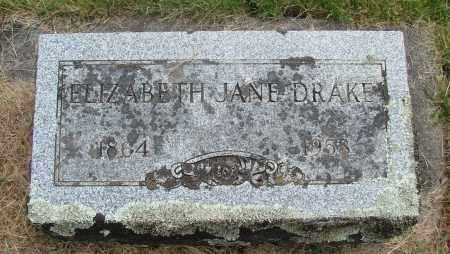 DRAKE, ELIZABETH JANE - Marion County, Oregon   ELIZABETH JANE DRAKE - Oregon Gravestone Photos