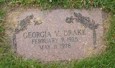 DRAKE, GEORGIA V - Marion County, Oregon | GEORGIA V DRAKE - Oregon Gravestone Photos