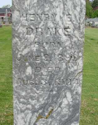 DRAKE, HENRY E - Marion County, Oregon | HENRY E DRAKE - Oregon Gravestone Photos