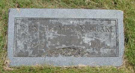 DRAKE, JOHN THOMPSON - Marion County, Oregon | JOHN THOMPSON DRAKE - Oregon Gravestone Photos