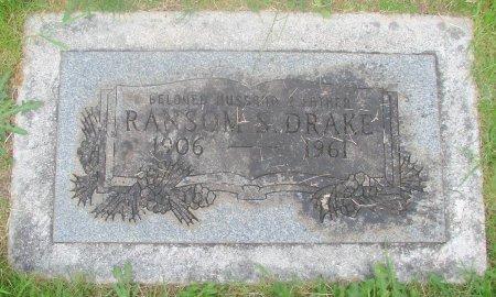 DRAKE, RANSOM S - Marion County, Oregon | RANSOM S DRAKE - Oregon Gravestone Photos