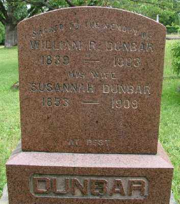 DUNBAR, WILLIAM RICE - Marion County, Oregon | WILLIAM RICE DUNBAR - Oregon Gravestone Photos
