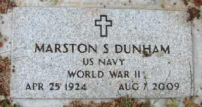 DUNHAM (WWII), MARSTON STANDISH - Marion County, Oregon | MARSTON STANDISH DUNHAM (WWII) - Oregon Gravestone Photos