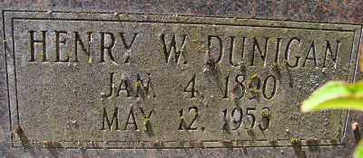DUNIGAN, HENRY WILLIAM - Marion County, Oregon | HENRY WILLIAM DUNIGAN - Oregon Gravestone Photos