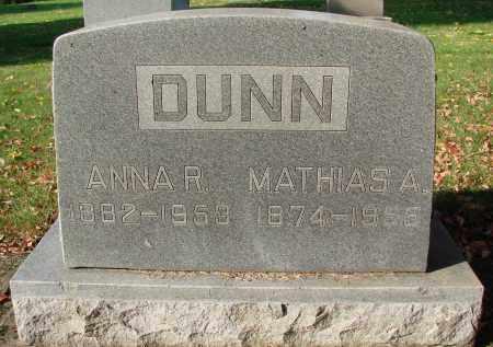 DUNN, MATHIAS A - Marion County, Oregon   MATHIAS A DUNN - Oregon Gravestone Photos