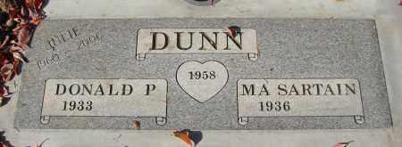 DUNN, DONALD P - Marion County, Oregon | DONALD P DUNN - Oregon Gravestone Photos