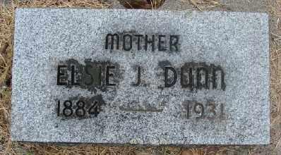 DUNN, ELSIE J - Marion County, Oregon | ELSIE J DUNN - Oregon Gravestone Photos