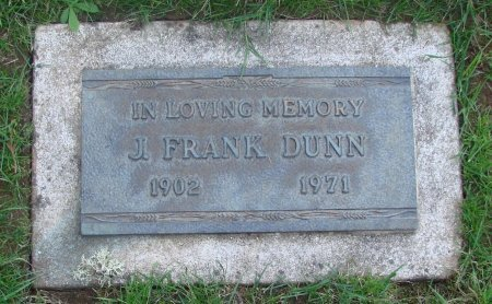 DUNN, J FRANK - Marion County, Oregon | J FRANK DUNN - Oregon Gravestone Photos