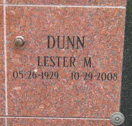 DUNN, LESTER M - Marion County, Oregon | LESTER M DUNN - Oregon Gravestone Photos
