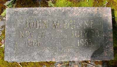 DUNNE, JOHN M - Marion County, Oregon | JOHN M DUNNE - Oregon Gravestone Photos