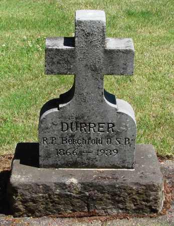 DURRER, BERCHFOLD - Marion County, Oregon | BERCHFOLD DURRER - Oregon Gravestone Photos