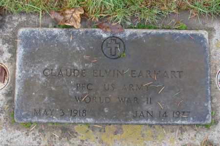 EARHART (WWII), CLAUDE ELVIN - Marion County, Oregon | CLAUDE ELVIN EARHART (WWII) - Oregon Gravestone Photos