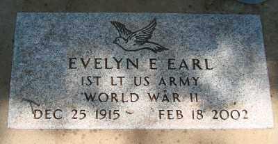 EARL (WWII), EVELYN E - Marion County, Oregon   EVELYN E EARL (WWII) - Oregon Gravestone Photos