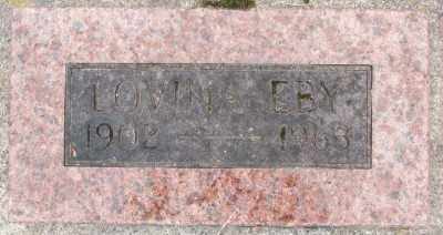 EBY, MARY LOVINA - Marion County, Oregon | MARY LOVINA EBY - Oregon Gravestone Photos