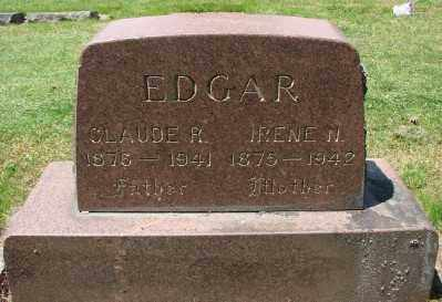 EDGAR, IRENE N - Marion County, Oregon | IRENE N EDGAR - Oregon Gravestone Photos