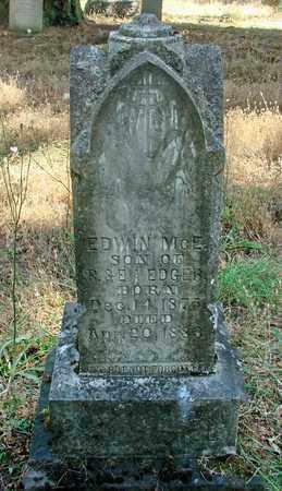 EDGAR, EDWIN - Marion County, Oregon | EDWIN EDGAR - Oregon Gravestone Photos