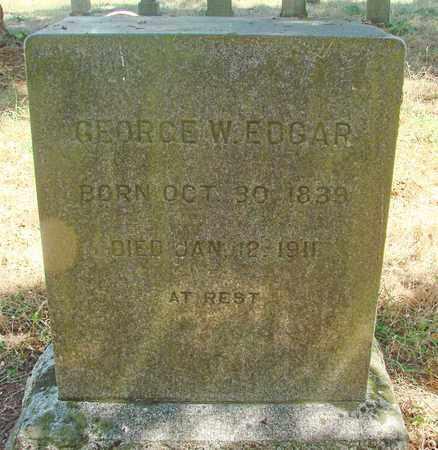 EDGAR, GEORGE W - Marion County, Oregon | GEORGE W EDGAR - Oregon Gravestone Photos