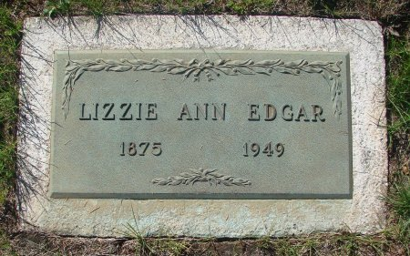 EDGAR, LIZZIE ANN - Marion County, Oregon   LIZZIE ANN EDGAR - Oregon Gravestone Photos