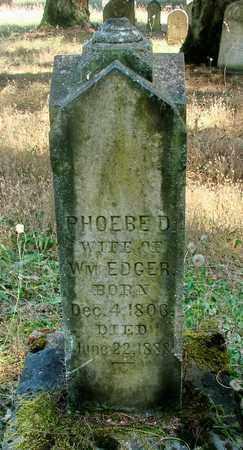 DEEDS EDGAR, PHOEBE - Marion County, Oregon | PHOEBE DEEDS EDGAR - Oregon Gravestone Photos