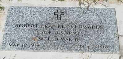 EDWARDS (WWII), ROBERT FRANKLIN - Marion County, Oregon | ROBERT FRANKLIN EDWARDS (WWII) - Oregon Gravestone Photos