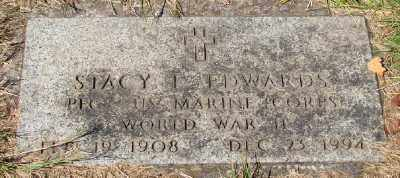 EDWARDS (WWII), STACY L - Marion County, Oregon   STACY L EDWARDS (WWII) - Oregon Gravestone Photos