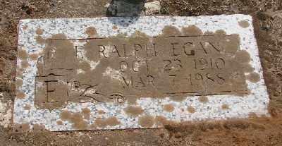 EGAN, FRANCIS  RALPH - Marion County, Oregon   FRANCIS  RALPH EGAN - Oregon Gravestone Photos