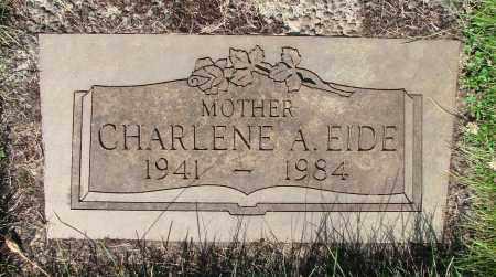 EIDE, CHARLENE A - Marion County, Oregon | CHARLENE A EIDE - Oregon Gravestone Photos