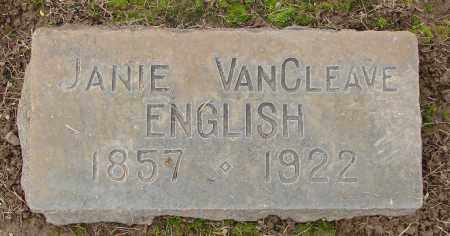 VAN CLEAVE, JANIE - Marion County, Oregon | JANIE VAN CLEAVE - Oregon Gravestone Photos