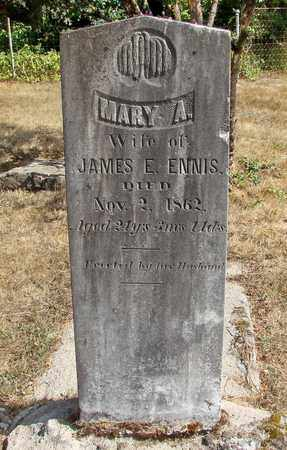 ENNIS, MARY A - Marion County, Oregon | MARY A ENNIS - Oregon Gravestone Photos