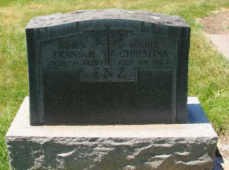 ENZ, CHRISTINA - Marion County, Oregon   CHRISTINA ENZ - Oregon Gravestone Photos