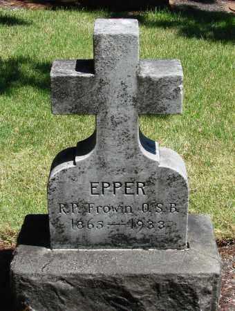 EPPER, FROWIN - Marion County, Oregon | FROWIN EPPER - Oregon Gravestone Photos