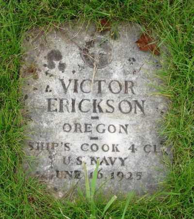 ERICKSON (WWI), VICTOR - Marion County, Oregon | VICTOR ERICKSON (WWI) - Oregon Gravestone Photos