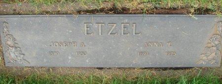 ETZEL, JOSEPH A - Marion County, Oregon | JOSEPH A ETZEL - Oregon Gravestone Photos