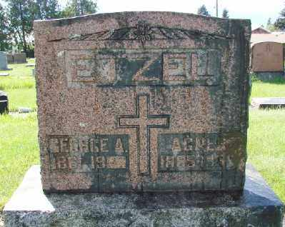 ETZEL, GEORGE A - Marion County, Oregon | GEORGE A ETZEL - Oregon Gravestone Photos