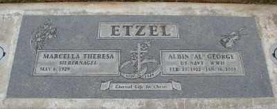 ETZEL, MARCELLA THERESA - Marion County, Oregon | MARCELLA THERESA ETZEL - Oregon Gravestone Photos