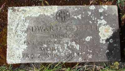 ETZEL, EDWARD G - Marion County, Oregon | EDWARD G ETZEL - Oregon Gravestone Photos