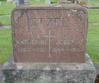 ETZEL, JOSEPH - Marion County, Oregon | JOSEPH ETZEL - Oregon Gravestone Photos