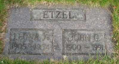 ETZEL, LEONA A - Marion County, Oregon | LEONA A ETZEL - Oregon Gravestone Photos