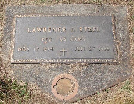 ETZEL (SERV), LAWRENCE L - Marion County, Oregon | LAWRENCE L ETZEL (SERV) - Oregon Gravestone Photos