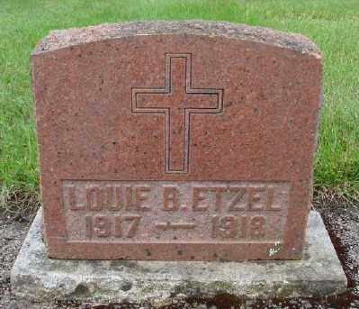 ETZEL, LOUIE B - Marion County, Oregon | LOUIE B ETZEL - Oregon Gravestone Photos