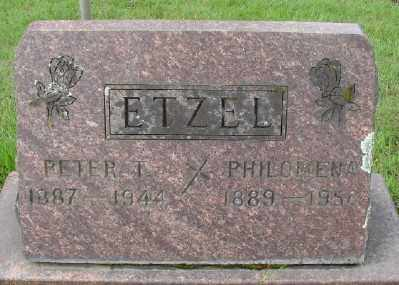 ETZEL, PETER T - Marion County, Oregon | PETER T ETZEL - Oregon Gravestone Photos