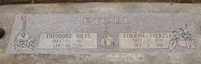 ETZEL, THEODORE MILES - Marion County, Oregon | THEODORE MILES ETZEL - Oregon Gravestone Photos