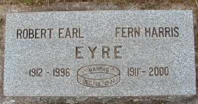 HARRIS, FERN MINERVA - Marion County, Oregon | FERN MINERVA HARRIS - Oregon Gravestone Photos