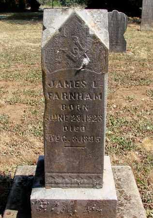 FARNHAM, JAMES LOUIS - Marion County, Oregon | JAMES LOUIS FARNHAM - Oregon Gravestone Photos