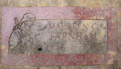 FARNHAM, MAUREEN C - Marion County, Oregon | MAUREEN C FARNHAM - Oregon Gravestone Photos
