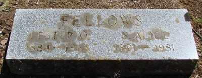 FELLOWS, LESTER O - Marion County, Oregon   LESTER O FELLOWS - Oregon Gravestone Photos