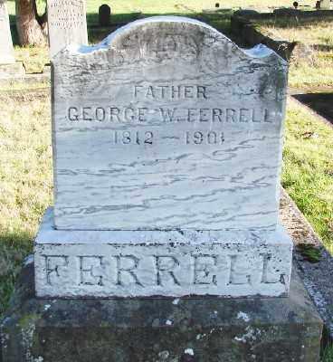 FERRELL, GEORGE W - Marion County, Oregon   GEORGE W FERRELL - Oregon Gravestone Photos